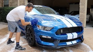 Washing A Car With Ceramic Coating