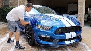 Washing A Car With Ceramic Coating