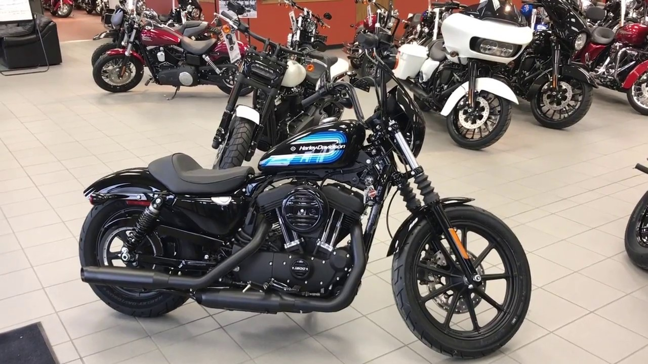 2018 Harley-Davidson XL1200NS Iron 1200 Walkaround - YouTube