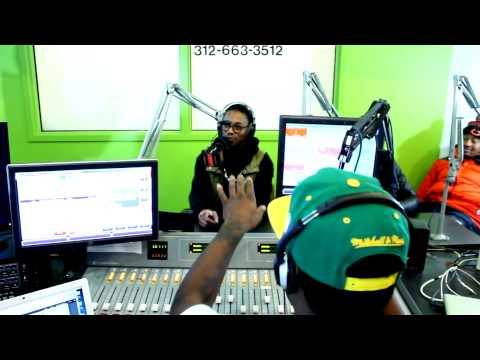 WCRX-FM's Orin De Jonge Interviews Hip Hop Recording Artist Lupe Fiasco