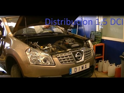 VideoTutorial HD | Procedimiento de Cambio de Kit Distribucion Nissan Qashqai 1.5 DCI