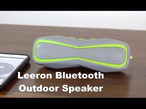 Leeron Bluetooth Outdoor Speaker Sound Test
