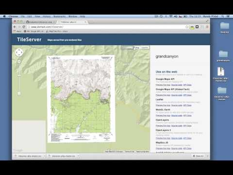 Tileserver: How to publish your maps online
