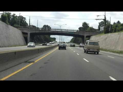 Henri IV Expressway (Autoroute 73 Exits 139 to 132) southbound