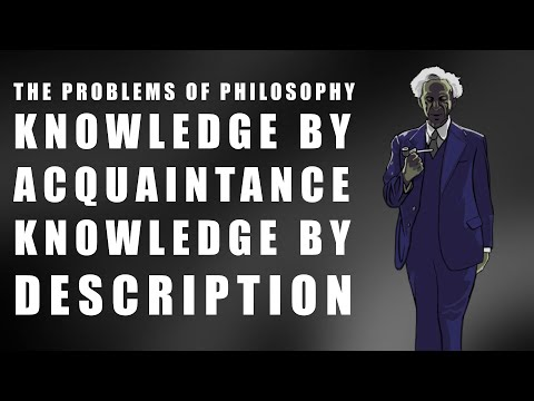russell knowledge by acquaintance and knowledge by Acquaintance, knowledge, and logic has 2 ratings and 1 review bertrand russell, the recipient of the 1950 nobel prize for literature, was one of the mos.