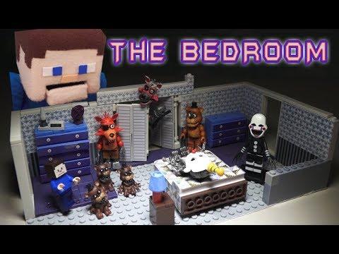 Five Nights at Freddys Bedroom Scene Custom DIY Fnaf Mcfarlane Toys Set Wave 5 must have!