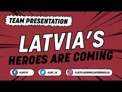 Latvia Team Presentation - #IIHFWorlds 2018 - 동영상