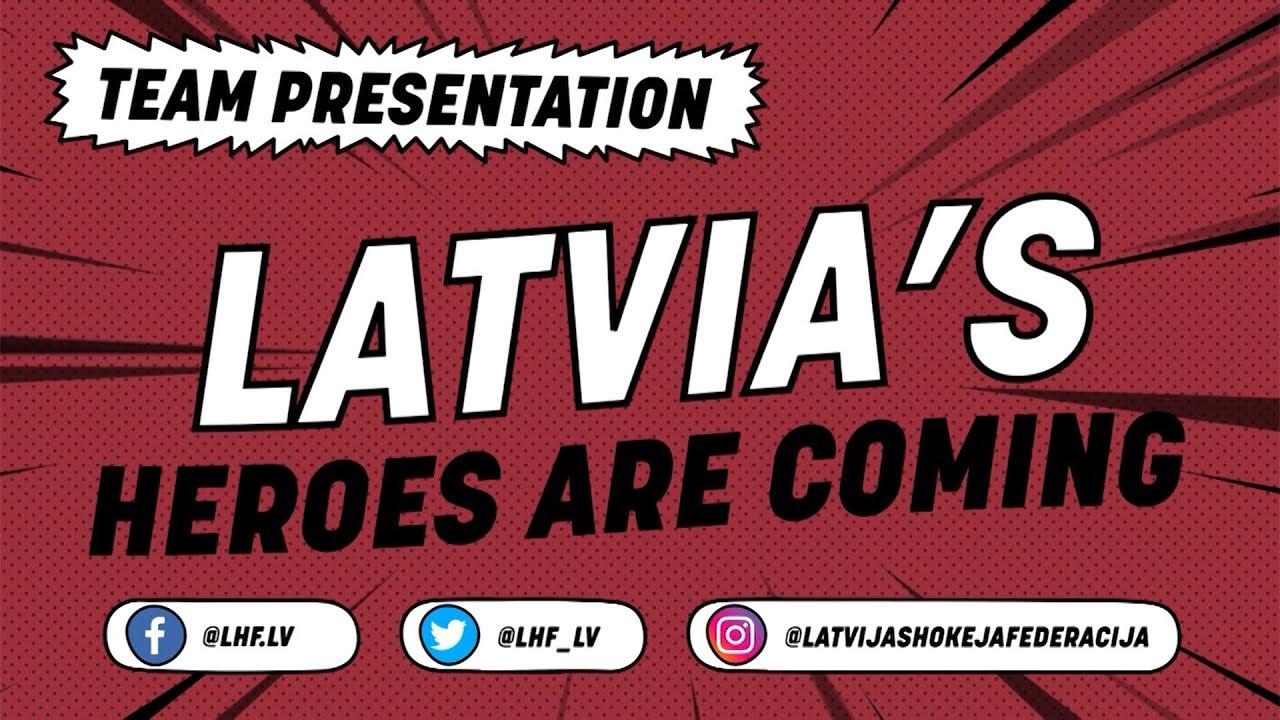 Latvijas izlases prezentācijas video izceļ Daugaviņu, kurš nemaz nespēlēs