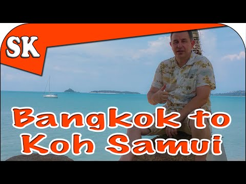 Bangkok to Koh Samui – On the Sleeper Train – Vlog 07
