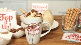 The Domestic Geek: Hot Cocoa Bar