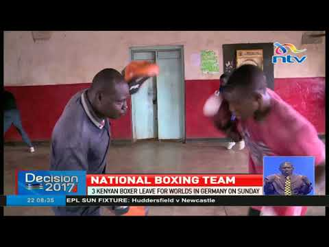 3 Kenyan boxers leave for world championships in Germany
