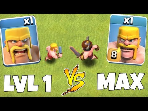 TIER 1 TROOPS Vs. MAX LVL TROOPS!!