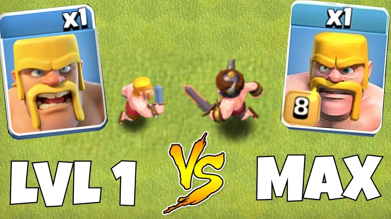 TIER 1 TROOPS vs. MAX LVL TROOPS!!