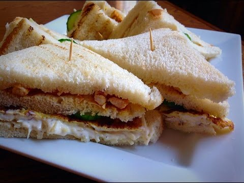 Chicken Club Sandwich Recipe By Huma In The Kitchen