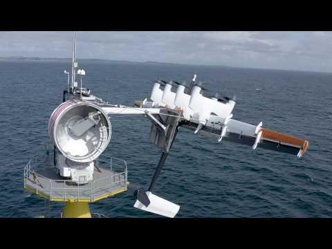 Makani's first offshore energy kite flight