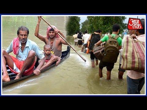 Floods Wreak Havoc In West Bengal And UP