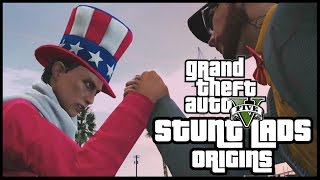 GTA 5 - Stunt Lads Origins: The New Recruit! (BEST BITS)