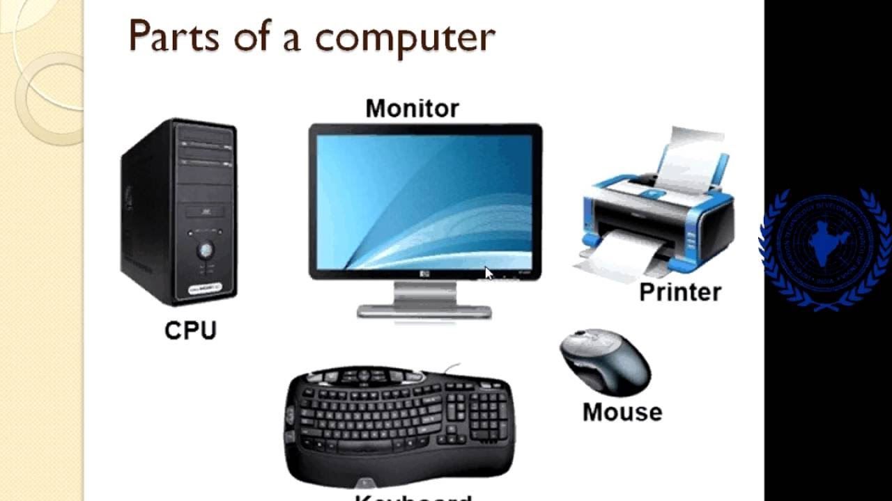 input devices used with a computer A computer system is a set of integrated devices that input, output, process,  are devices used for entering data or instructions to the central processing unit.