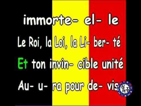 Download L'hymne national de la Belgique