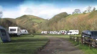 Small Batch camping and caravn site, Little Stretton, Shropshire