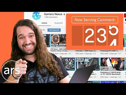 Steve Burke of GamersNexus Reacts To Their Top 1000 Comments On YouTube | Ars Technica
