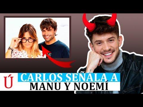 Carlos Right señala a Manu y Noemí tras ser expulsado de Operación Triunfo 2018