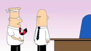 Dilbert Animated Cartoons - Only the Things that Matter,  Miserable and Helpless and The Technical Solution