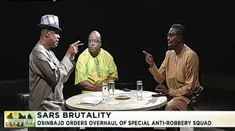 Image result for Journalists' Hangout 15th August 2018 | Osinbajo orders overhaul of SARS