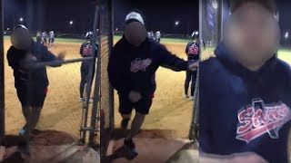 Grandmother Allegedly Attacked by Softball Coach   Caught on Camera