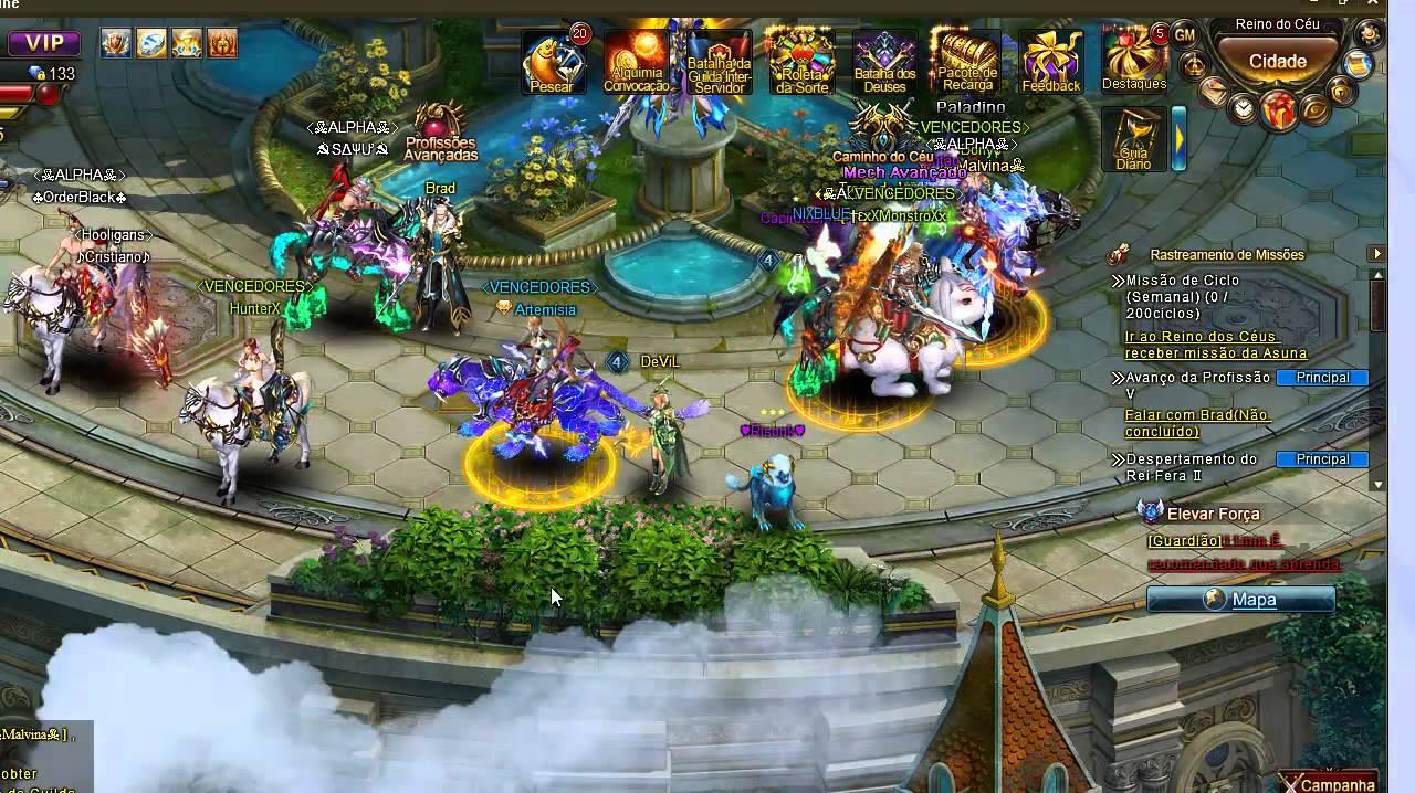 Legend online jogo