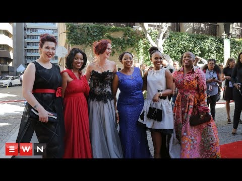 All the glitz and glammer from the SONA 2018 red carpet