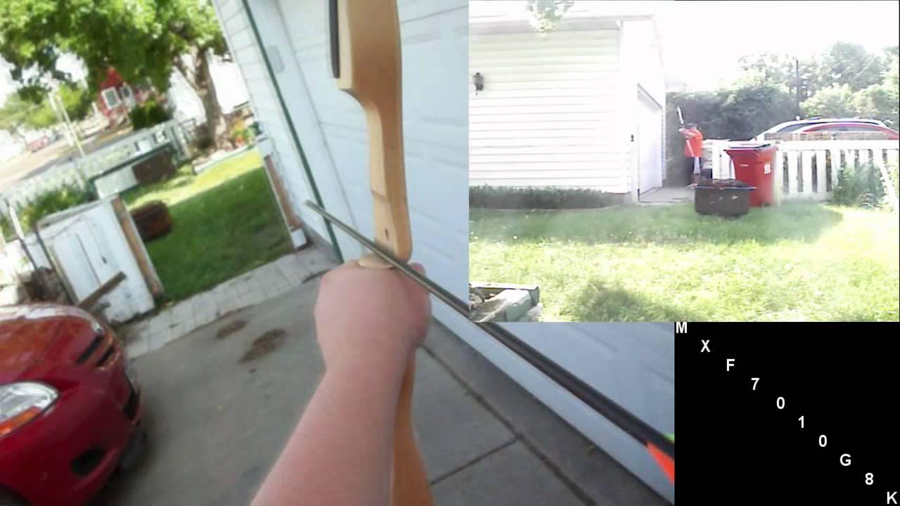 shooting the pse buckeye recurve bow youtube