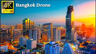 Bangkok - 4K UHD Drone Video