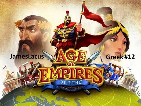 Let's play Age of Empires Online - Greek - 12 [ The port master's children ]