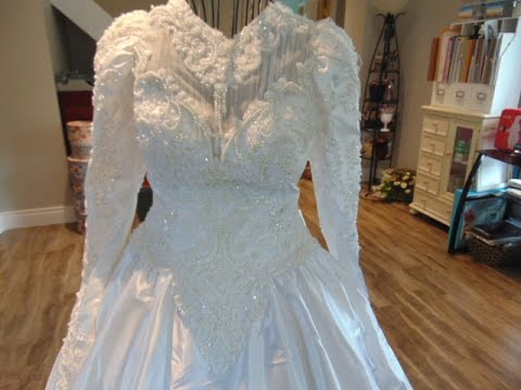 Thrift Haul Bridal Gowns For Liqué Trims Vintage Style Doily Delights
