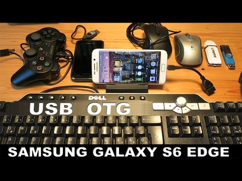 Samsung Galaxy S6 Edge USB OTG (USB Host)