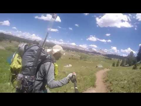 Backpacking and Fishing Bonneville Basin (WY) and fishing Gunnison Colorado