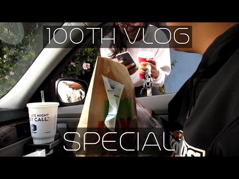 100TH VLOG SPECIAL | FAST FOOD ROULETTE