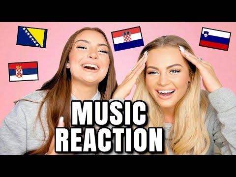 BALKAN MUSIC REACTION | Raf Camora, Jala Brat, Senidah, Luna Djo, Buba Corelli, Tanja Savic, Corona