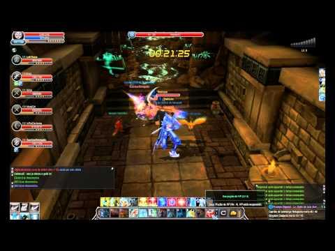 Cabal Online / COBR @ HisokaXD - LVL 200 - Quest De Grau - T2 Desperto - Status Finais