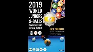 WPA Cyclop World Junior 9-Ball Championships   Table 3