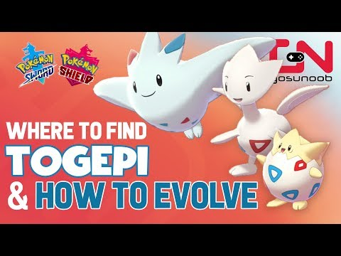 Where To Find Togepi, Togetic & How To Evolve Into Togekiss - Pokemon Sword And Shield Evolution