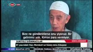 Suriyeli bir mülteci, Hacı Memduh'un hikayesi