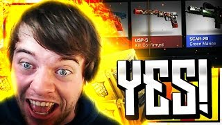 FINALLY GOT SOME LUCK!!!! (CS GO SHADOW CASE OPENING)