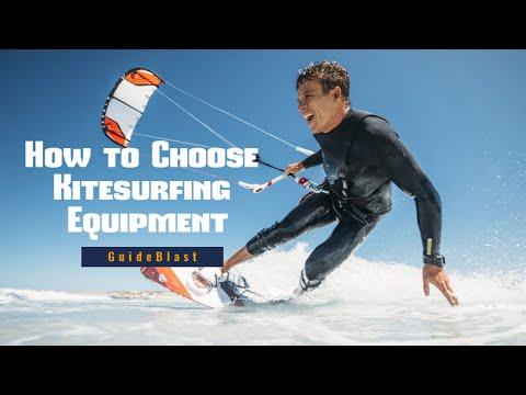 How To Choose Kitesurfing Equipment | Kitesurfing Equipment For Beginners | Guide Blast