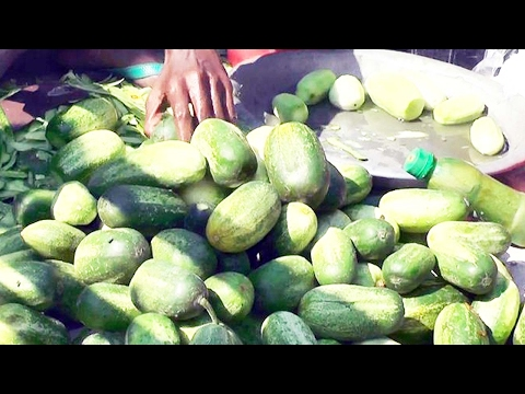 CUCUMBER CUTTING | MOST POPULAR SUMMER SPECIAL SALAD | HEALTHY STREET FOOD IN BANGLADESH