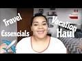 Travel/Vacation Haul | Travel Essencials #1 | NICOLE MOJICA