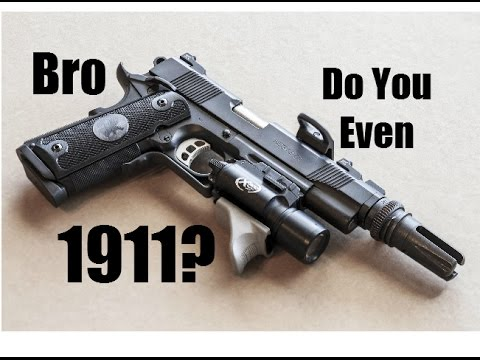 How Not to Shoot a 1911: *John Browning Shrugs* (Ruger SR 1911)