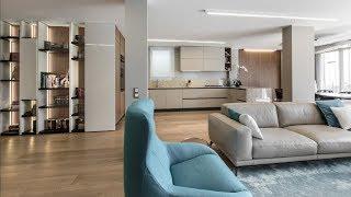 Итальянский модерн. Дизайн интерьера виллы в Бордигере, Италия
