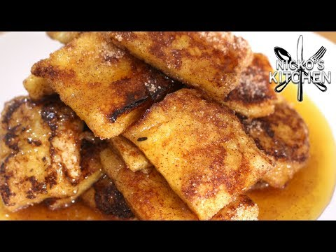 French Toast Nuggets - BEST ever Ice Cream topping!